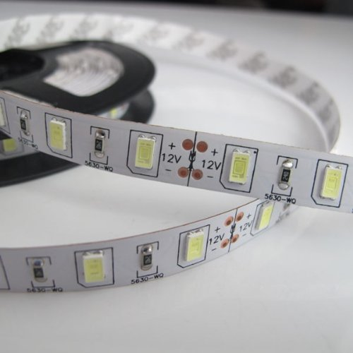 5630 white non-waterproof 5 meters reel 300 LEDs brighter than 5050