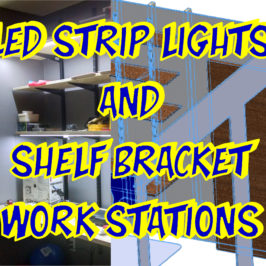Make Well-Lit Work Spaces: DIY LED Under-Cabinet Strips