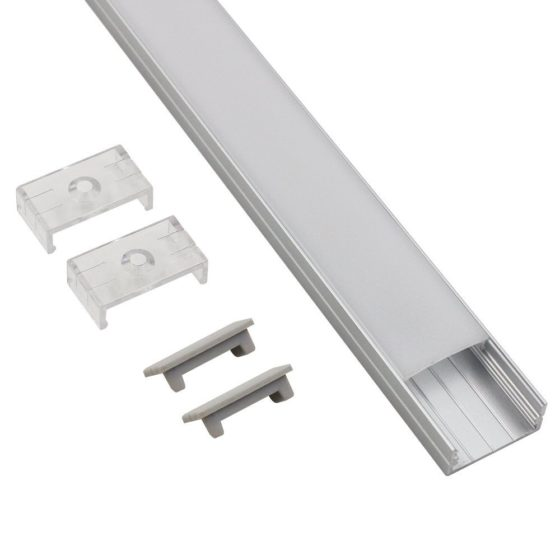 Torchstar U07 Extruded aluminum LED strip channel