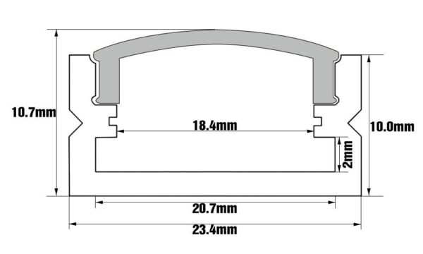 Torchstar dimensioned cross section U07