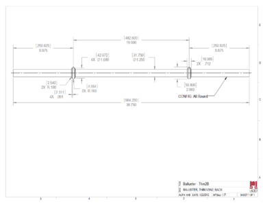 PRINT-BRONZE BALUSTER LATHE MACHINING REFERENCE 1