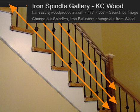 Beautiful STAIRCASE BALUSTER DESIGN LINES 1