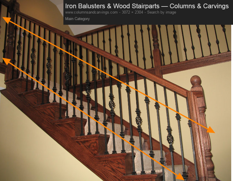 High Quality STAIRCASE BALUSTER DESIGN LINES 2