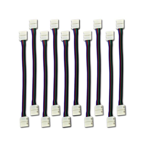 LED connector - 10 mm Wide Strip to Strip Jumper