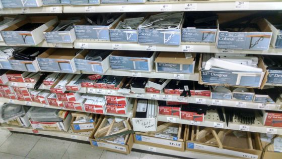 Shelf Brackets - SO MANY CHOICES - Plan ahead