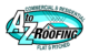 ROOFING COMPANY LOGO COLOR W-TEXT SQ
