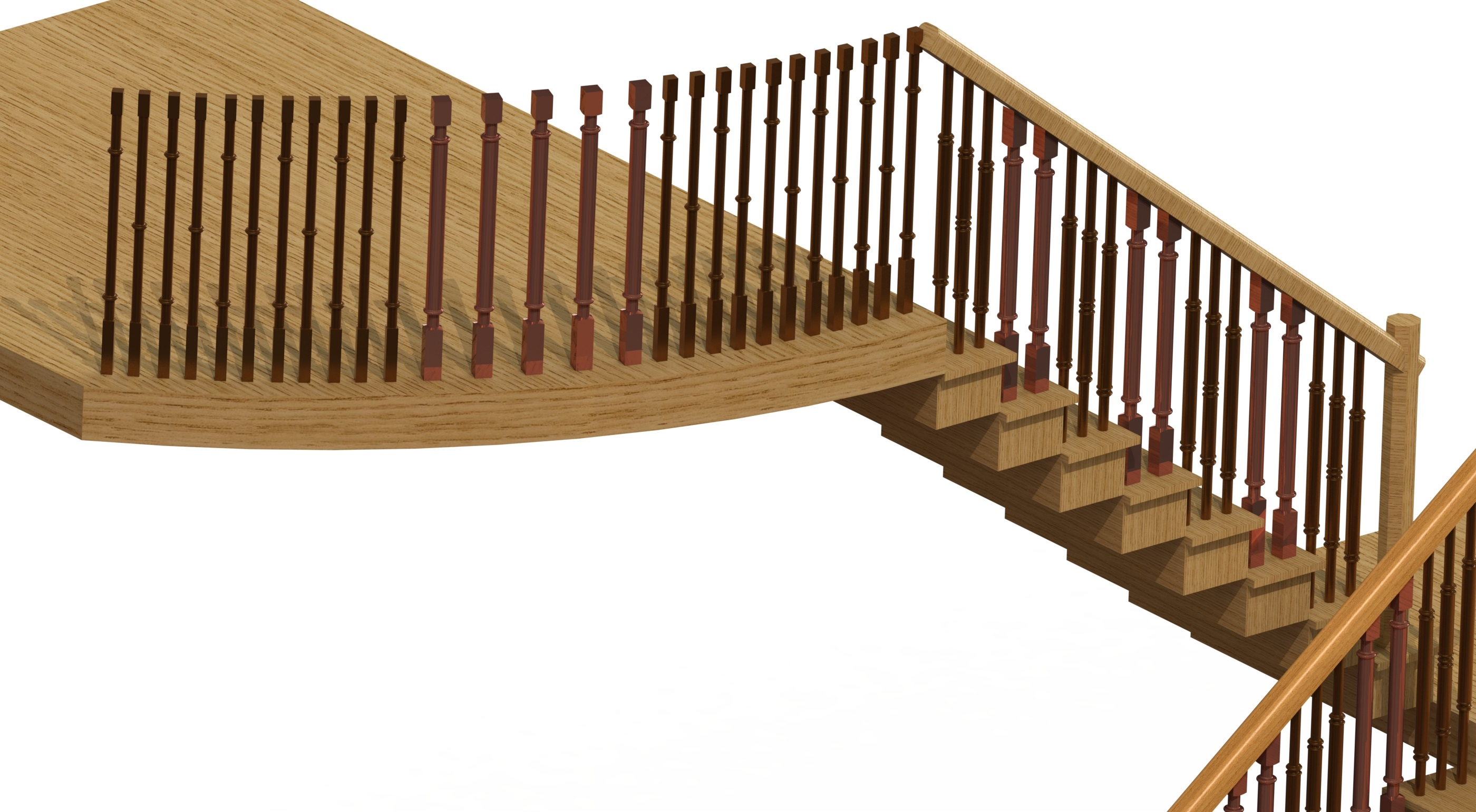 100 baluster stairs custom fabrication services for stair u