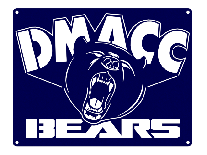 DMACC BEARS - RENDER 2 - 1PC