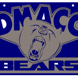 DMACC Bears Team Logo: Steel Sign Variations & Renders