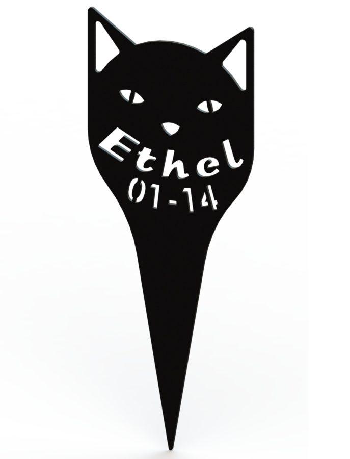 Ethel Tombstone - Pet Grave Marker RENDERING