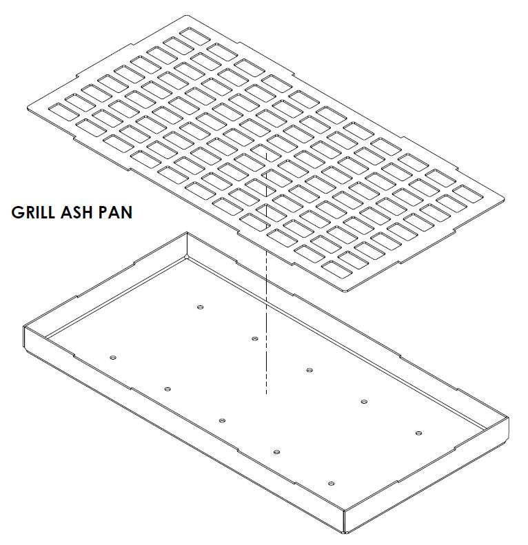 Grill Ash Pan