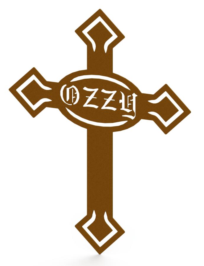 Ozzy Dog Grave Marker - RENDER