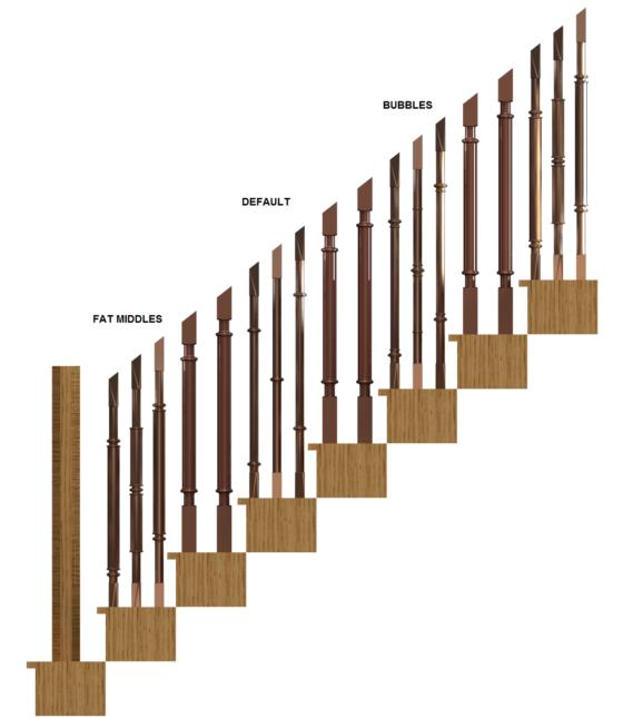 STAIR RUN SIDE - DIFFERENT SKINNYS 2