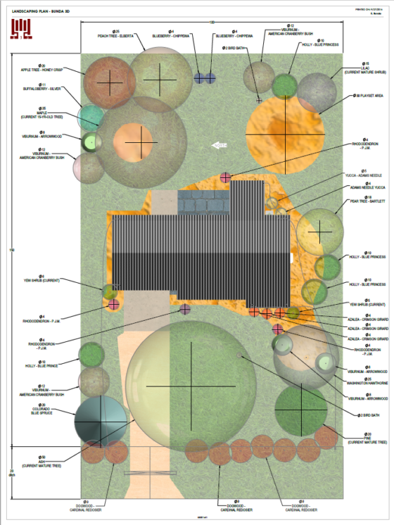 Landscape Plan Drawing - DIY your own in CAD