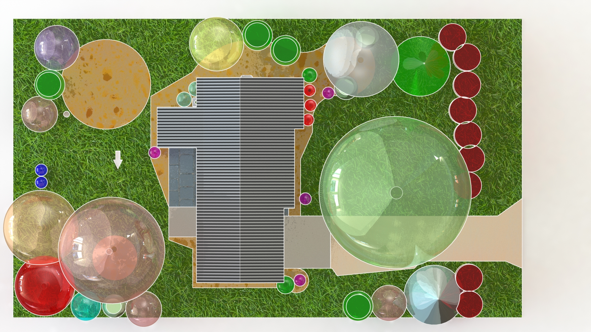 Make Your Landscaping Design Plan How To Model Amp Print In