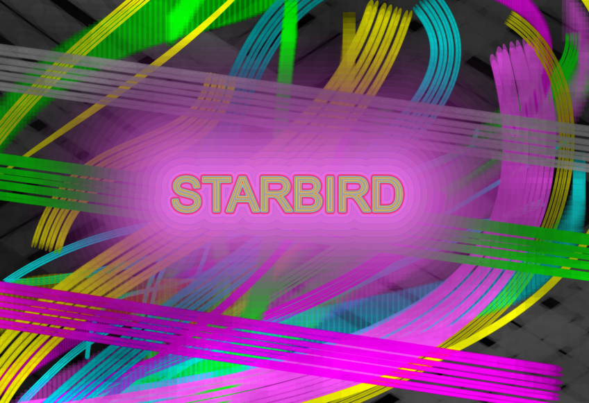 Star Bird Graphic