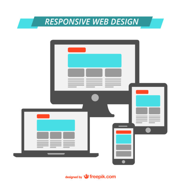 "Responsive Web Design <a href=""http://www.freepik.com/free-vector/responsive-web-design-flat-graphics_717976.htm"">Designed by Freepik</a>"
