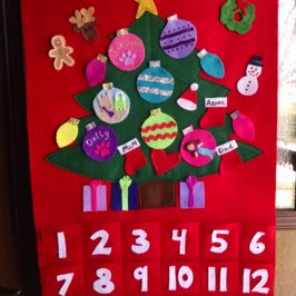 Holly Makes Customized Advent Calendars; Great Holiday Gifts