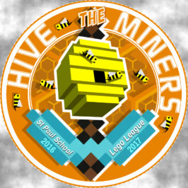 Lego League Logo 2016 – Team Hive Miners!