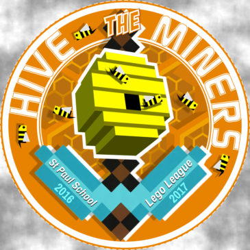 LEGO LEAGUE LOGO 2016 - HIVE MINERS TEAM 1020