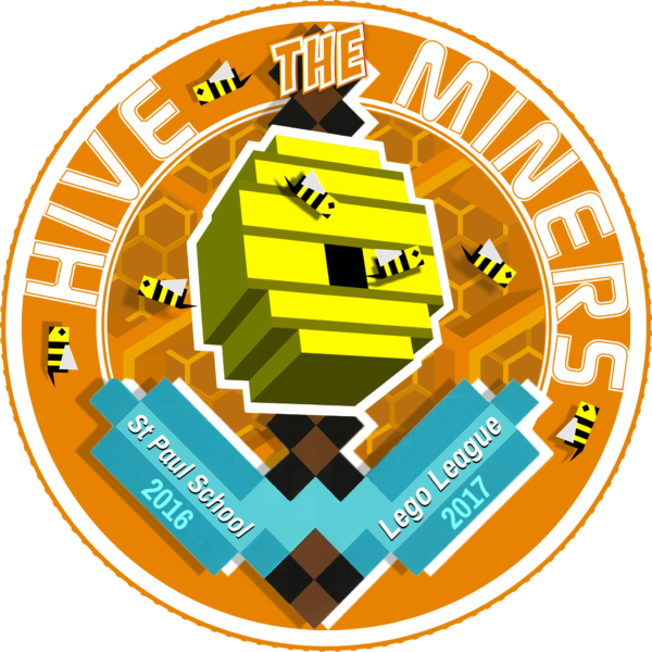LEGO LEAGUE LOGO 2016 - HIVE MINERS TEAM