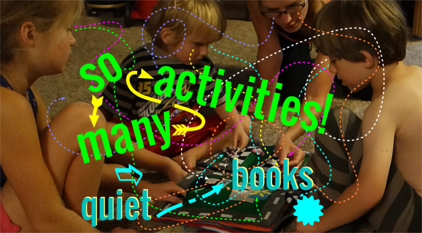 SO MANY ACTIVITIES - Max gets a new Quiet Book and demonstration