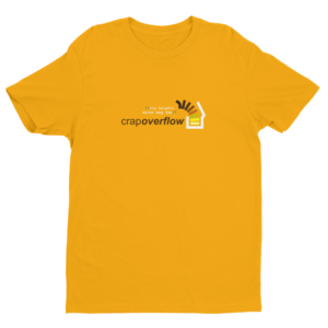 CRAP-OVERFLOW-orange-clear_mockup_Flat-Front_Gold