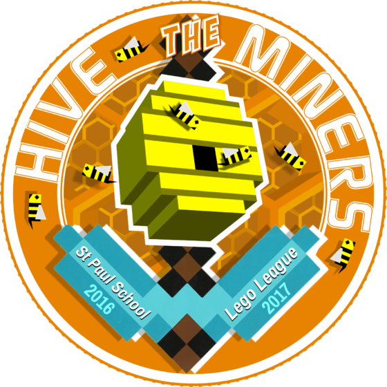 LEGO LEAGUE LOGO 2016 - TEAM HIVE MINERS