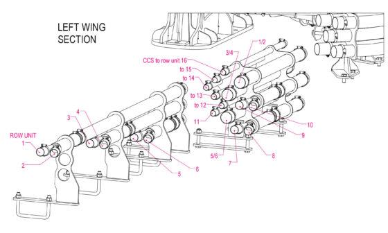 dry fert meter manifold hose diagram 2