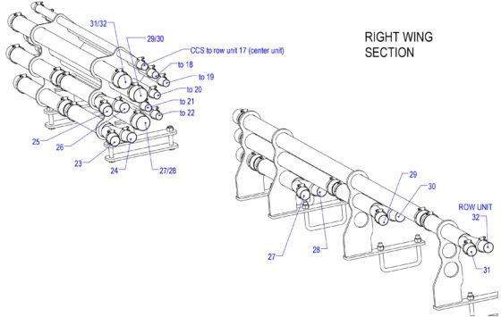 dry fert meter manifold hose diagram 3