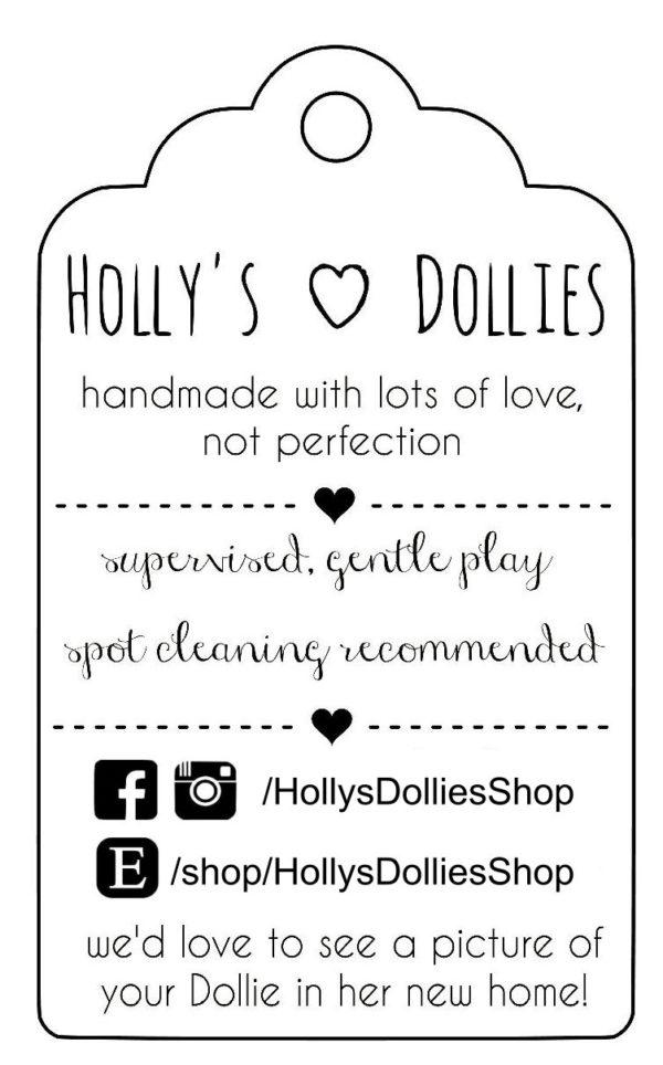 HOLLYS DOLLIES BOX TAG IDEA