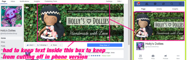 HOLLY'S DOLLIES - COVER IMAGES ARE A PAIN - FACEBOOK