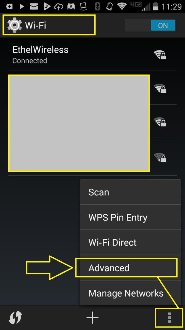 Screenshot FIND ANDROID PHONE MAC ADDRESS 1